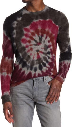 Кашемировый свитер Swirl с принтом тай-дай Autumn Cashmere