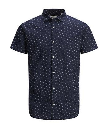 Мужская рубашка с коротким рукавом Blackpool Jack & Jones