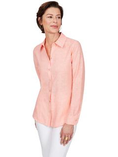 Льняная рубашка Jordan без железа FOXCROFT