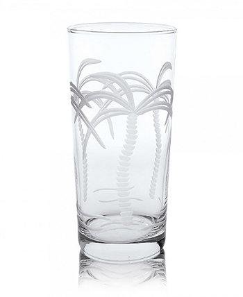 Кулер для пальм Highball 15 унций - набор из 4 стаканов Rolf Glass