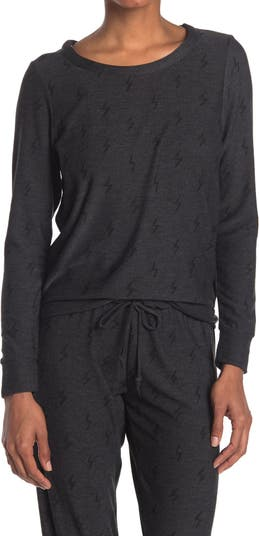 Black Bolts Cozy Pullover Sweatshirt Chaser