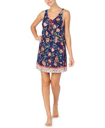 Женская сорочка без рукавов с цветочным рисунком Ellen Tracy