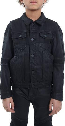 Джинсовая куртка с мотоциклетным покрытием Cult Of Individuality