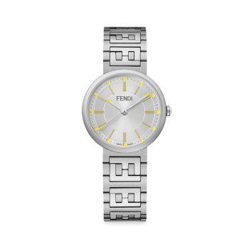 Часы Forever Fendi из стерлингового серебра с браслетом Fendi Timepieces