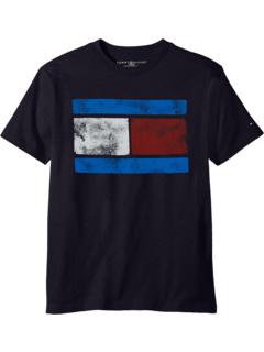 Футболка Vintage Flag (Big Kids) Tommy Hilfiger Kids