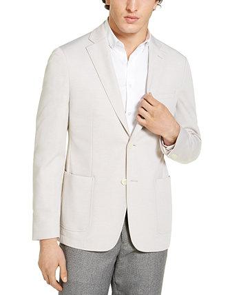 Мужское приталенное спортивное пальто Calvin Klein