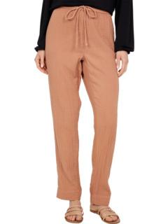 Однотонные марлевые брюки челси с кулиской и карманами Dylan by True Grit
