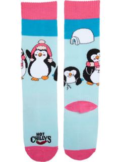 Носки Penguins среднего объема (для малышей / маленьких детей / взрослых) Hot Chillys Kids