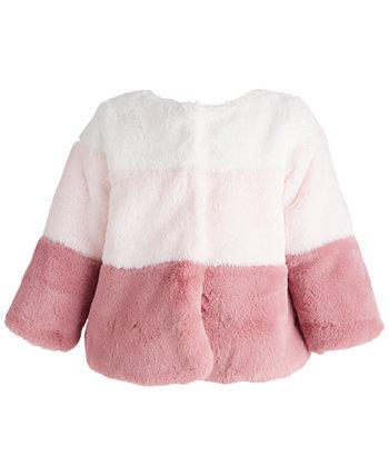 Флисовое пальто для маленьких девочек, созданное для Macy's First Impressions