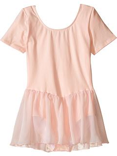 Купальник с коротким рукавом и шифоновая юбка (для малышей / маленьких детей / больших детей) Bloch Kids
