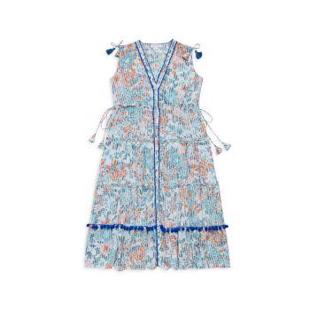 Макси-платье Ivy для маленьких девочек и девочек Poupette St Barth