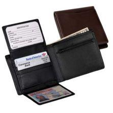Кожаный кошелек двойного сложения Royce Commuter Royce Leather
