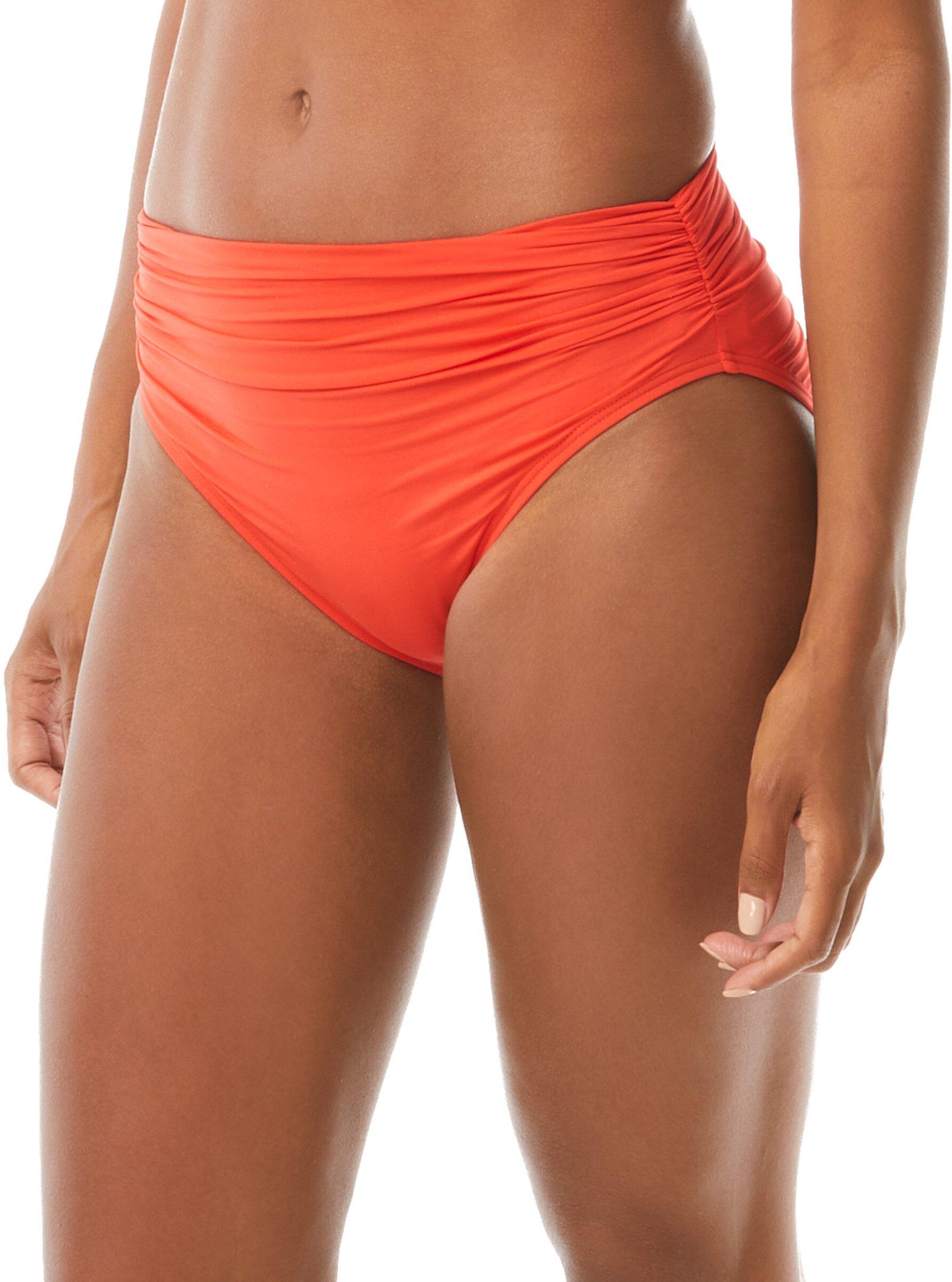 Классические брюки со сборками на талии Sunlit Seas Carmen Marc Valvo