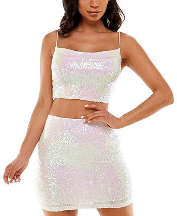 2-шт. Юниоров. Облегающее платье с блестками B Darlin