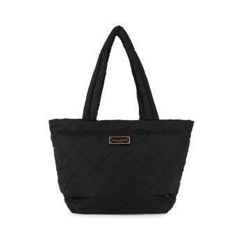 Стеганая сумка-тоут среднего размера Marc Jacobs
