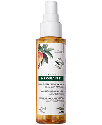 Питательное масло для сухих волос с манго Klorane