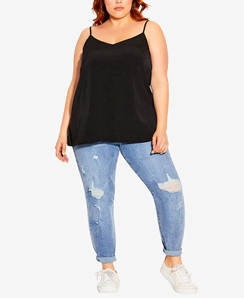 Trendy Plus Size Simply Sweet Camisole City Chic