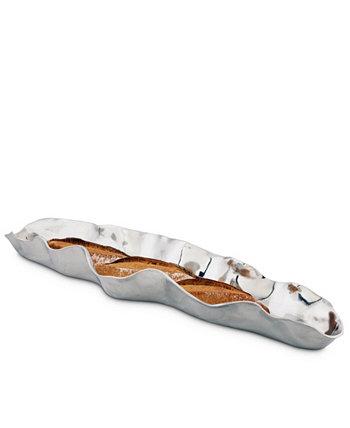 Алюминиевый поднос для багета с подписью Carmel Collection Arthur Court