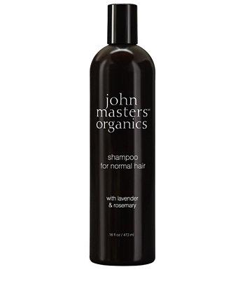 Шампунь для нормальных волос с розмарином лаванды - 16 эт. унция John Masters Organics