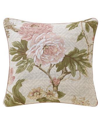 Декоративная подушка Mariella, 18 x 18 дюймов Rose Tree