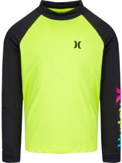 Рубашка сухого рашгарда UPF 50+ (для маленьких детей) Hurley Kids