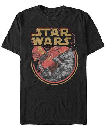 Мужская футболка Episode IX Rise of Skywalker Red Trooper Storm Star Wars