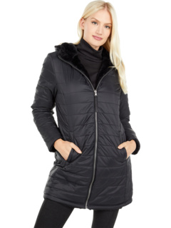 Двусторонняя длинная куртка на уютном масляном ворсе Free Country