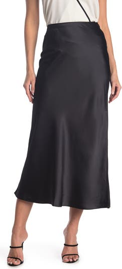 Атласная юбка-комбинация CLUB MONACO