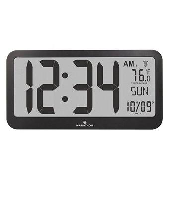Панорамные настенные часы Atomic Marathon