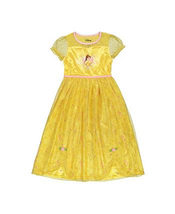 Пижамы с платьем в стиле фэнтези для маленьких девочек Disney Princess