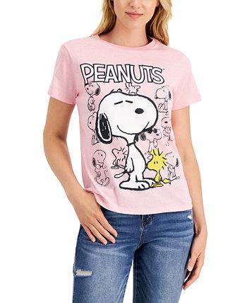 Футболка с рисунком юниоров Snoopy Peanuts