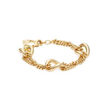 Orchard 10K Gold-Plated Chain Bracelet DANNIJO