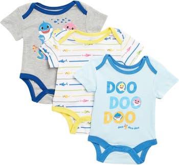 Боди Baby Shark - набор из 3 шт. HAPPY THREADS