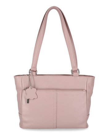 Классическая кожаная сумка-тоут наппа, созданная для Macy's Giani Bernini