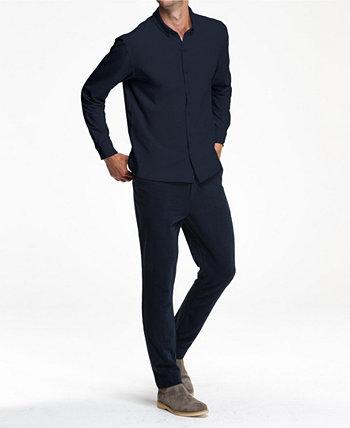 Рубашка Mindful с длинным рукавом спереди Swet Tailor