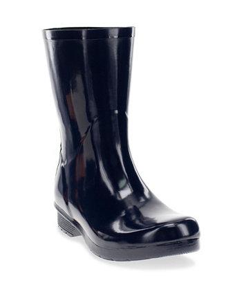 Женские полированные ботинки средней длины до середины икры Chooka