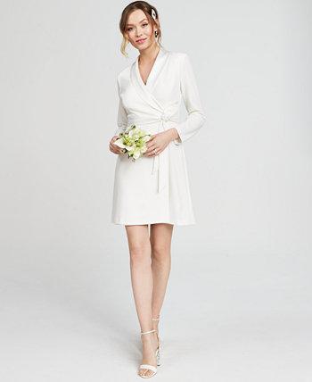 Платье-футляр из смокинга Adrianna Papell