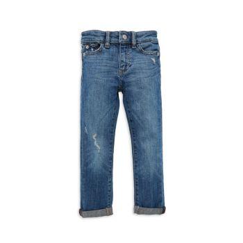 Little Girl's Harper Distressed Boyfriend Jeans DL1961