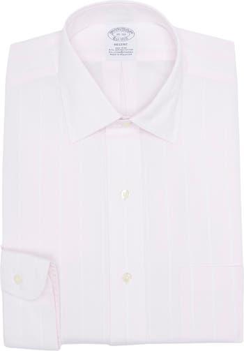 Однотонная рубашка Regent Fit с длинным рукавом Brooks Brothers