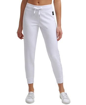 Спортивные брюки с вышитым логотипом Calvin Klein