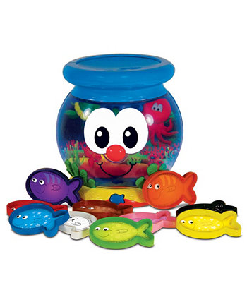 Учись со мной - Цветная забавная рыбная миска The Learning Journey