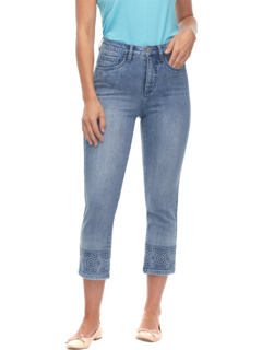 Вышивка в тон Trapunto Suzanne in Blue FDJ French Dressing Jeans
