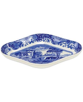 Столовая посуда, синие итальянские маринованные блюда, набор из 2 шт. Spode
