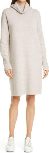 Платье-свитер из кашемира с длинными рукавами Nordstrom Signature
