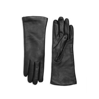 Технические перчатки на подкладке из полированного кашемира Saks Fifth Avenue