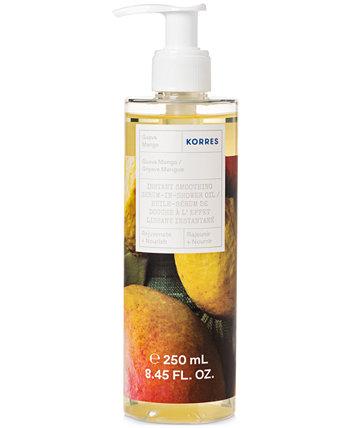 Масло для душа мгновенного разглаживания Guava Mango Serum-In-Shower Oil KORRES