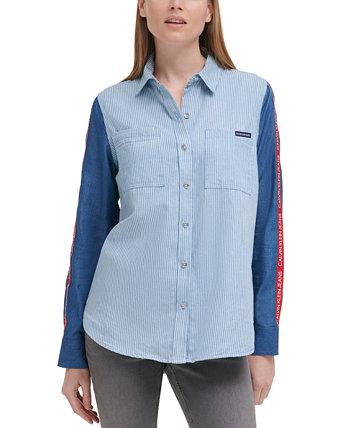 Рубашка на пуговицах Americana Calvin Klein