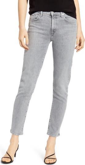 Прямые джинсы Toni до щиколотки с высокой талией AGOLDE