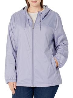 Женская ветровка на молнии спереди большого размера Calvin Klein