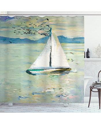 Art Shower Curtain Ambesonne